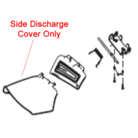 Cobra Side Discharge Protecting Cover 25306400101