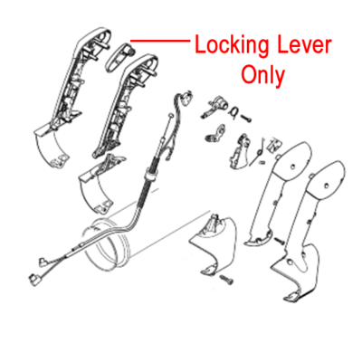 Stihl Stihl Throttle Locking Lever BR Blowers 4282 182 2900
