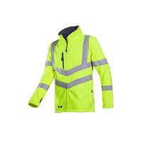 Mowett 712 High Vis Yellow Fleece Jacket