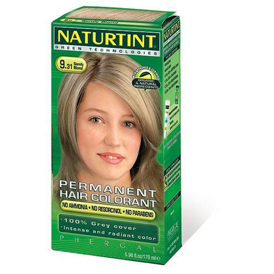Naturtint Permanent Natural Hair Colour I-9.31 Sandy Blonde 170ml