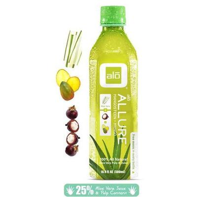 Alo Allure - Aloe Vera, Mango & Mangosteen Juice 500ml