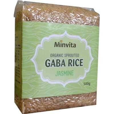 Minvita Organic Jasmine Gaba Rice 500g