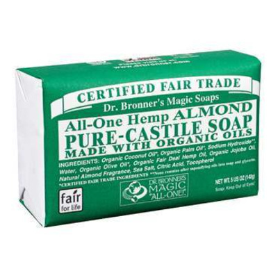 Dr Bronner's Almond Soap Bar 140g
