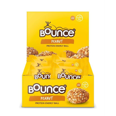 Bounce Peanut Protein Blast Ball 49g - Pack of 12