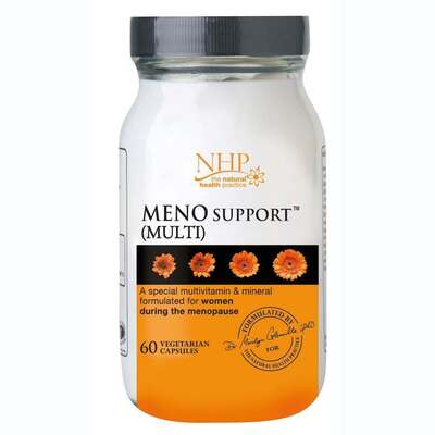 Natural Health Practice Meno Support Multi 60 Capsules