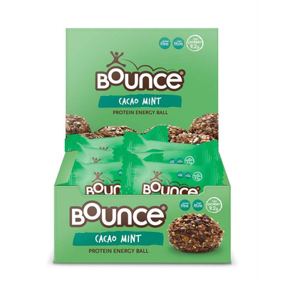 Bounce Cacao Mint Protein Bomb 42g - Pack of 12