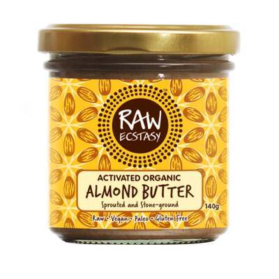 Raw Ecstasy Activated Almond Butter 140g