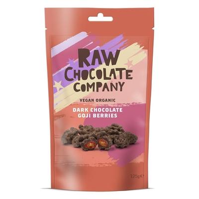 The Raw Chocolate Company Organic Chocolate Goji Berries 125g