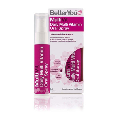 BetterYou MultiVit Daily Multivitamin Oral Spray 25ml
