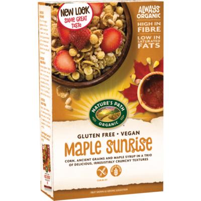 Nature's Path Organic Gluten Free Maple Sunrise Cereal 332g