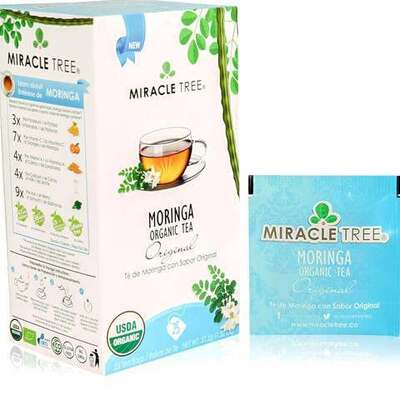 Miracle Tree Moringa Organic Original Tea 25 Bags