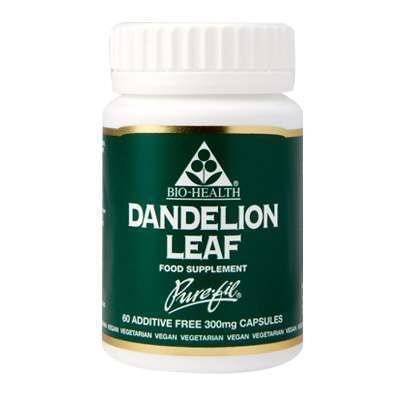 Bio Health Dandelion Leaf 300mg 60 Capsules