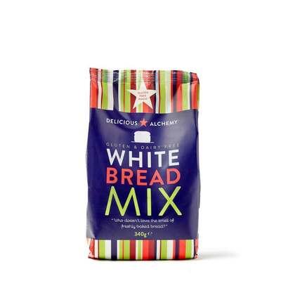 Delicious Alchemy Gluten & Dairy Free White Bread Mix 340g