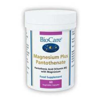 BioCare Magnesium Plus Pantothenate 60 Capsules