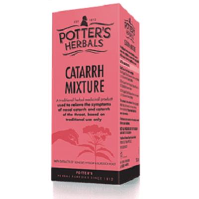 Potter's Herbals Catarrh Mixture 150ml