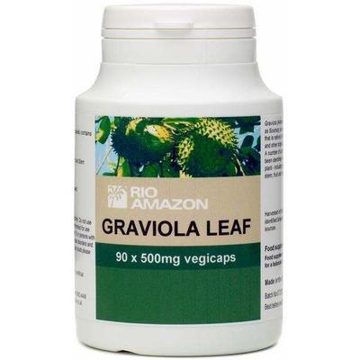 Rio Amazon Graviola Leaf 500mg 90 Capsules