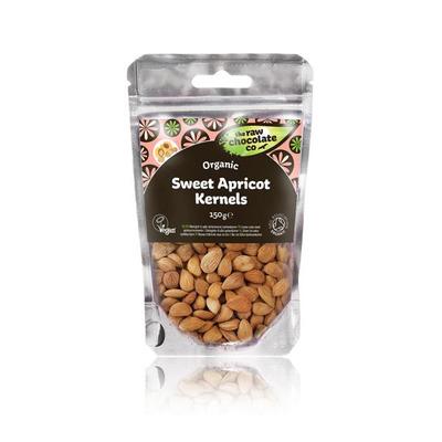 The Raw Chocolate Company Organic Raw Sweet Apricot Kernels 150g
