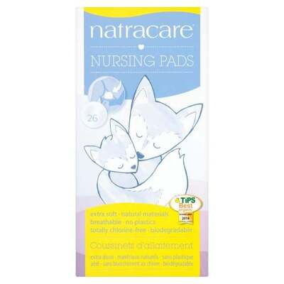 Natracare Natural Nursing Pads - Pack of 26