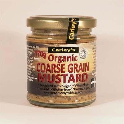 Carley's Organic Honey Grain Mustard 170g