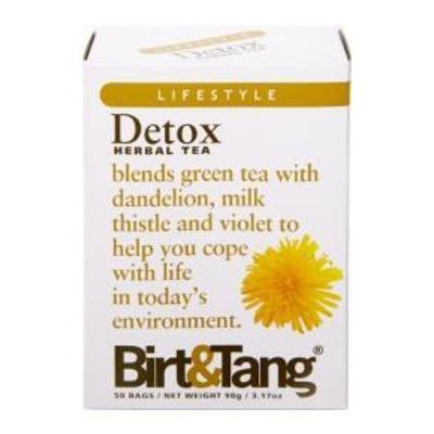 Birt & Tang Detox Herbal Tea 50 Bags