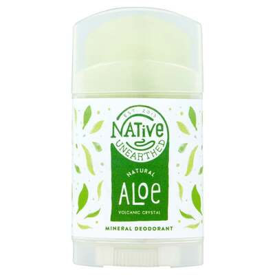 Native Unearthed Crystal Deodorant with Aloe Leaf Juice 100g
