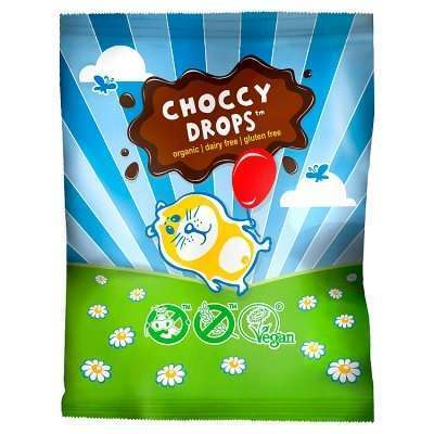 Moo Free Dairy Free Choccy Drops 25g - Pack of 10