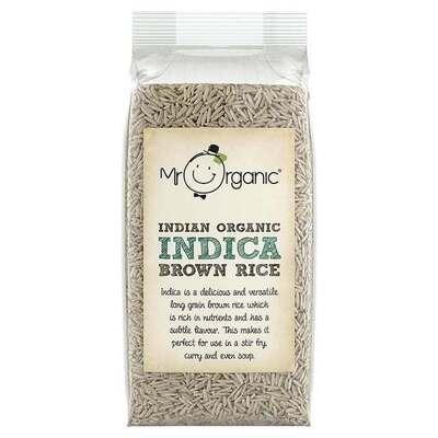 Mr Organic Indica Brown Rice 500g