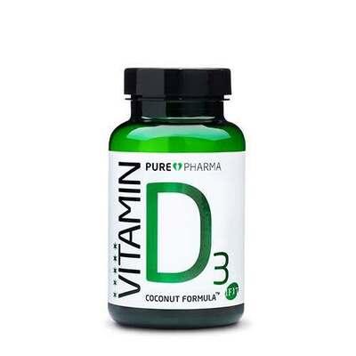 PurePharma D3 120 Capsules
