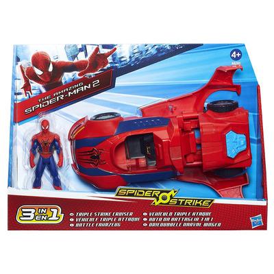 Marvel Spiderman Triple Strike Cruiser Action Figure