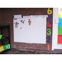 Image of Outdoor Whiteboard Alu Frame 600 x 450mm