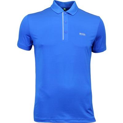 Hugo Boss Golf Shirt Pavotech Victoria Blue PF17