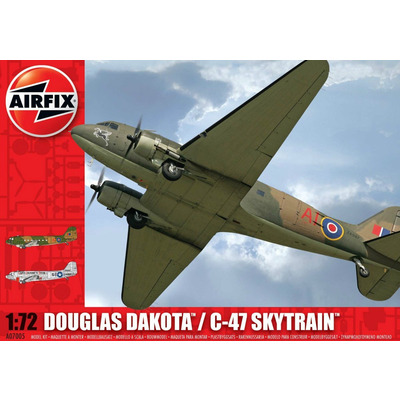 Airfix 1:72 Douglas Dakota/ C-47 Skytrain Aircraft Model Kit