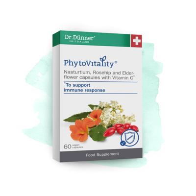 Dr Dunner Nasturtium, Rosehip & Elderflower with Vitamin C 60 Capsules