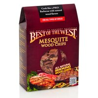 Best of the West Mesquite Barbecue Smoking Chips 2.4LT