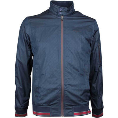 Ted Baker Golf Jacket Squares Bomber Navy AW17