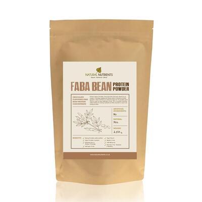 Natural Nutrients Faba Bean Protein Powder Chocolate 250g