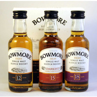 Bowmore - The Distillers Collection (3x5cl)