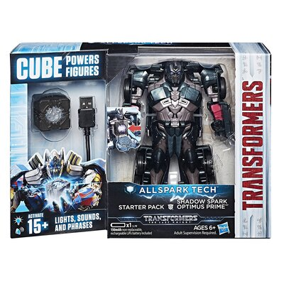 Transformers Allspark Tech Starter Pack Shadow Spark Optimus