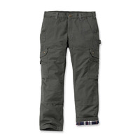 Image of Carhartt Flannel Lined Ripstop Cargo Trousers