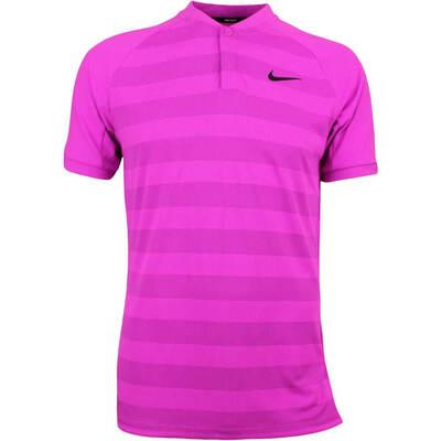 Nike Golf Shirt Zonal Cooling Momentum Blade Hyper Magenta SS18