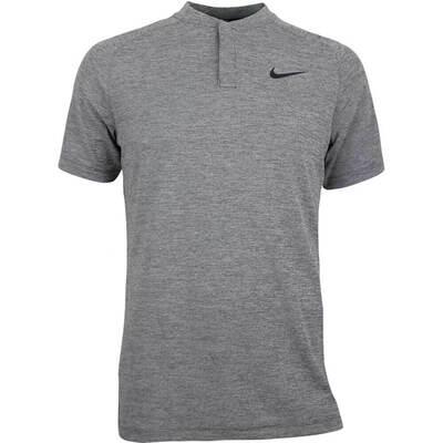 Nike Golf Shirt Aeroreact Momentum Blade Black Heather SS18