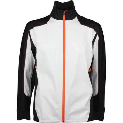 Galvin Green Waterproof Golf Jacket ALON C KNIT White 2018
