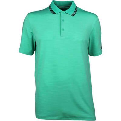 Adidas Golf Shirt Ultimate 365 Texture Polo Hi Res Green SS18