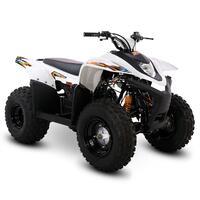 SMC Hornet 100cc White Kids Quad Bike