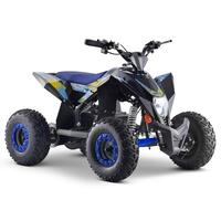 Image of FunBikes T-Max Roughrider 1000w Electric Blue Kids Quad Bike