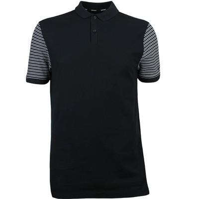Nike Golf Shirt NK Dry Pique Stripe Black SS18