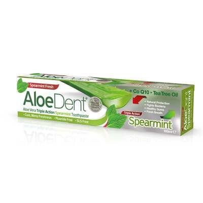AloeDent Triple Action Spearmint Toothpaste 100ml