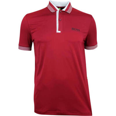 Hugo Boss Golf Shirt Paddy Pro 1 Rhubarb FA18