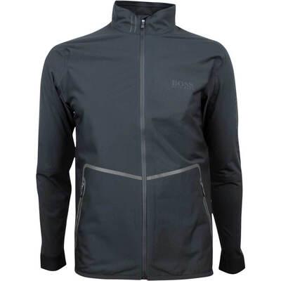 Hugo Boss Waterproof Golf Jacket Swalay Pro Black FA18