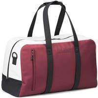 Hugo Boss Travel Bag - Hyper Holdall - White - Rhubarb FA18